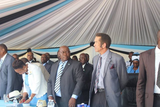 Farewell to His Excellency Dr Seretse Khama Iam Khama